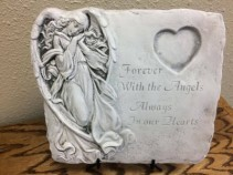 Forever With Angels Keepsake Stone