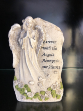 Forever With The Angels Memorial Stone