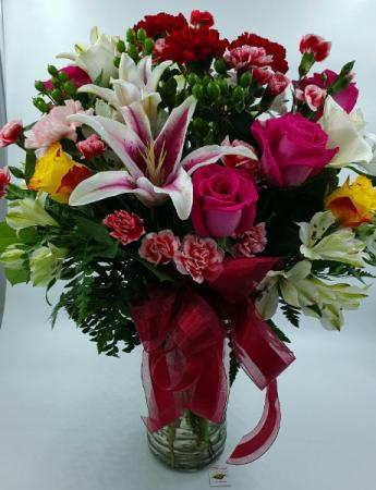 Forever Yours Now 99.99 Best Seller Premium Vase Arrangement - WAS $129.99