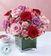 Forever Yours Rose Medley by Real Simple® Arrangement