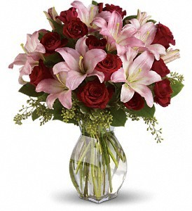 Forever Yours Roses & Lilies