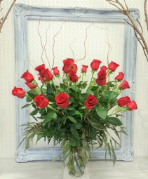 Forever Yours Two Dozen Roses Arrangement