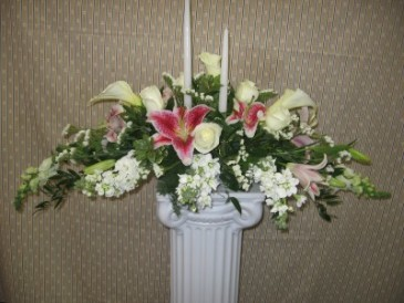 Formal Alter Wedding Flowers