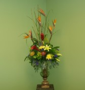 FORMAL TROPICAL DESIGN Tropical Flower Arrangment