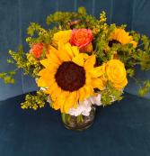Fort Worth on My Mind vase arrangement