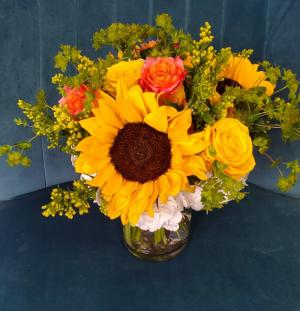 Fort Worth on My Mind vase arrangement in Fort Worth, TX   Fort Worth Neighborhood Florist