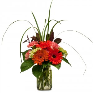 Fountain of Flowers Arrangement in Fort Smith, AR | EXPRESSIONS FLOWERS, LLC