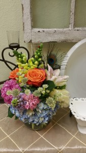 Four Seasons  Bubble Bowl Arrangement