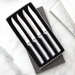 Four Utility Steak Knives Gift Set S55