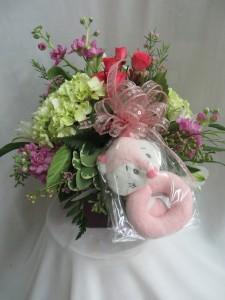 Foxy Girl Fresh Vased Arrangement