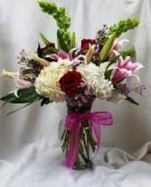 Fragrance of Heron Bay Vase arrangement