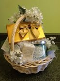 Fragrance Plus Gift Basket in Fairfield, CT | Blossoms at Dailey's Flower Shop
