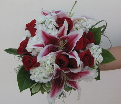 Fragrant Blooms Wedding Bouquet