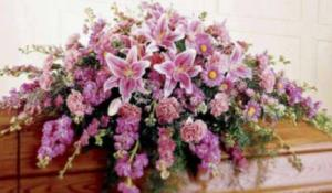Fragrant Casket Spray  in Georgetown, KY   Carriage House Gifts & Flowers
