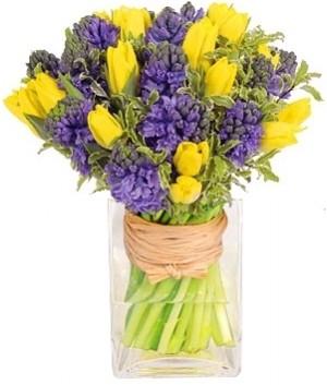 Spring flower designs genes florist gift baskets germantown md spring in your step bouquet in germantown md genes florist gift baskets mightylinksfo