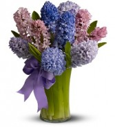 Fragrant Hyacinth Spring Bouquet
