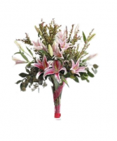 Fragrant Lilies Premium  Arrangement