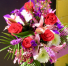 Fragrant Lilies, Roses and Boronia Bouquet Cut Flower Bouquet