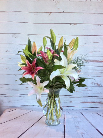 Fragrant Lily Arrangement