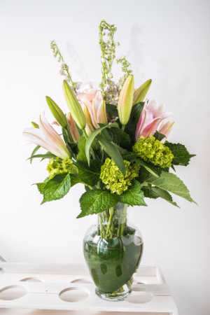 Fragrant Oriental Lilies Custom