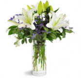 Fragrant White Lilies