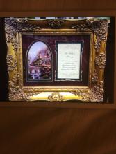 Framed Sympathy Art Sympathy Gifts