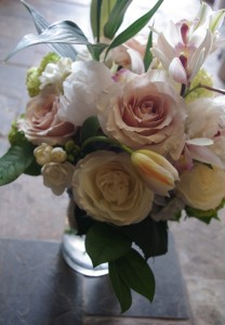 Fragrant Garden Vase Arrangement