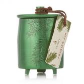 Frasier Fir Heritage THYMES Large Green Metal Tin Candle