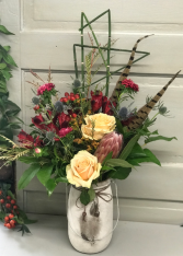 Free Bird  Vase Arrangement