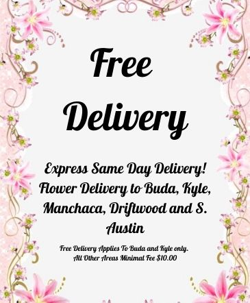 FREE DELIVERY!!! BUDA AND KYLE AREA