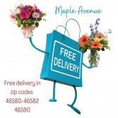 Free Delivery —-Substitution Policy