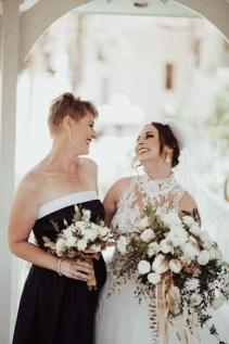 FREE FORM CASCADE BRIDAL BOUQUET Bridal Bouquet