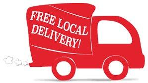 FREE LOCAL DELIVERY FOR ON-LINE ORDERS ONLY