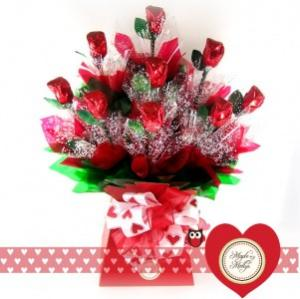FREE LONG STEM CHOCOLATE ROSE WHEN YOU ORDER BY FEB. 11   in Margate, FL | THE FLOWER SHOP OF MARGATE