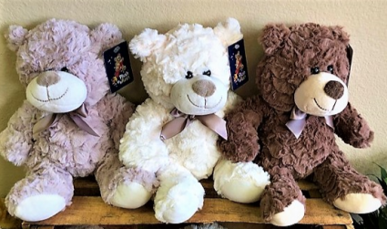 FREE Teddy Bear with any $75 Valentine Flowers! Teddy Bear