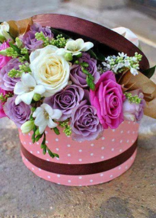 French aroma bouquet anniversary, valentine's day, just because