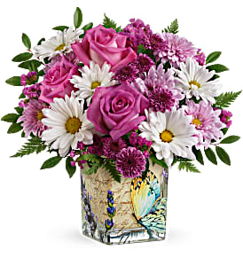 French Butterfly Bouquet