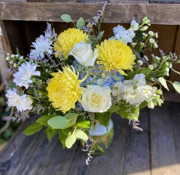 French Country Fresh Floral Design