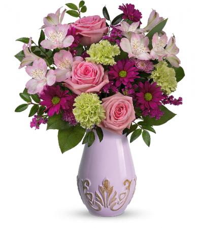 French Lavender Bouquet T21M110A Teleflora