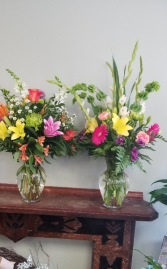 Fresh and Colorful Vase Designers Choice in Warren, Pennsylvania | VIRG-ANN FLOWER SHOP INC.