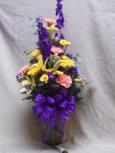 Fresh Flower Mixed Vase Arrangement