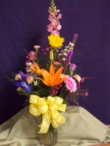Fresh Spring Vase Arrangement