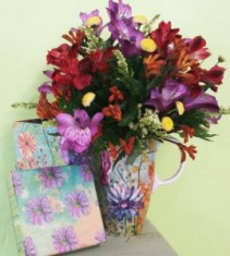Fresh Arrangement   Fresh Mug Gift Box