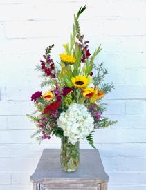 Fresh Arrangement Fresh Vased Arrangement