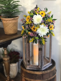Fresh Arrangement on Lantern Fresh; Gift
