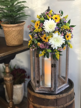 Fresh Arrangement on Lantern Fresh; Gift