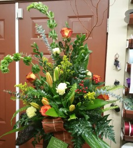 Fresh Arrangment in a Designer Container
