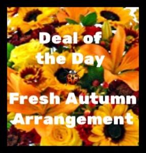 Fresh Autumn  Mixed Arrangement
