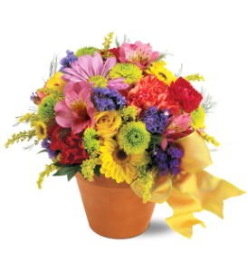 Fresh Blossom Potpourri             TF-F4 Fresh Floral Arrangement