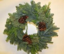36 Inch Fresh Christmas Wreath